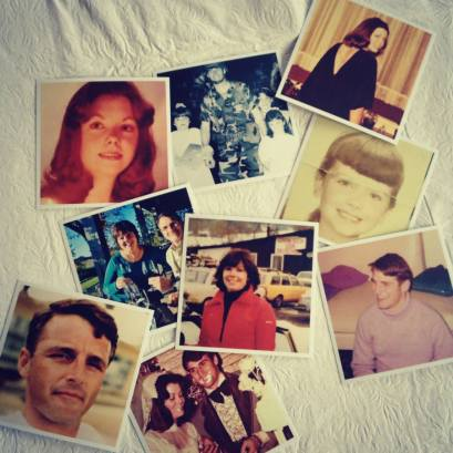 Old photos printed through Printstagram