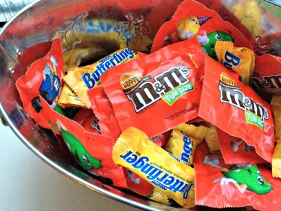American Halloween candy in the UK