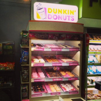Dunkin Donuts in the UK